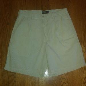 Polo Ralph Lauren green seersucker shorts 35